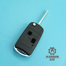 2 BTN Uncut Flip Remote Key Shell Fob Case Replace For TOYOTA Camry RAV4 Corolla
