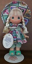 2002 Precious Moments Garden Of Friends Blonde Collectable Doll - Not A Toy!