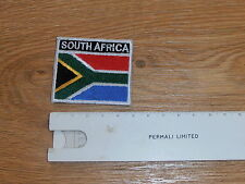 SOUTH AFRICA COLOUR FLAG PATCH - NEW - AS WORN ON S2000 SHIRT