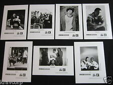 JUSTIN WARFIELD/KENYATTA 'Q.D. III SOUNDLAB' SEVEN 1991 PUBLICITY PHOTOS--5 x 7