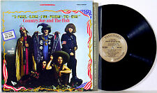 COUNTRY JOE & THE FISH ◈ I-FEEL-LIKE-I'M-FIXIN'-TO-DIE ◈ EX 1967 1H/1H acid game