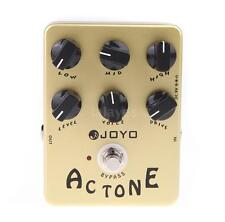 JOYO JF-13 AC Tone Vox Amp Simulator Guitar Effect Pedal True Bypass ^ G7N4