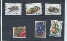 España sellos. estampillada sin montar o nunca montada Lote-Ver descripción. (T249)