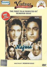 NAJMA - ASHOK KUMAR - VEENA - NEW BOLLYWOOD DVD - FREE SONGS VCD INSIDE