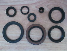 OSK05 1968on BSA A75 TRIUMPH T150 T160 ENGINE & GEARBOX OIL SEAL KIT SET