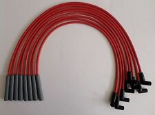 FORD FE HEI 332,352,360,390,406,427,428 & BIG BLOCK RED 8mm Spark Plug wires