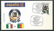 1982 ITALIA BUSTA SPECIALE COPPA DEL MONDO CALCIO ITALIA CAMERUN - EDG6