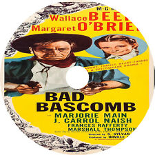Bad Bascomb DVD Wallace Beery Margaret O'Brien V Rare 1946 Western