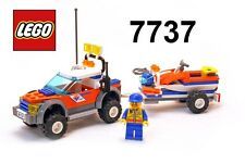 Gioco Game Set LEGO 7737 COAST GUARD & JET SCOOTER Guardia Costiera + Moto Acqua
