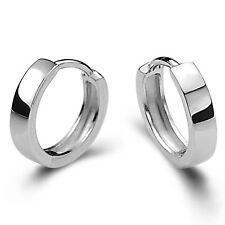 Brand Design Antique Jewelry Men Women Sterling 925 silver Hoop Earrings Gift
