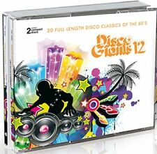 Disco Giants Vol. 12    2-cd  Great 80's 12 inches   ( Paul Laurence, Warp 9)