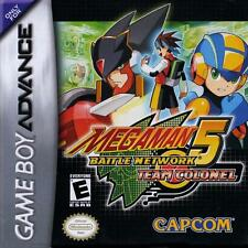 Mega Man Battle Network 5 Colonel - Game Boy Advance