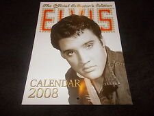 RARE Limited ELVIS PRESLEY The Official Collectors Edition CALENDAR 2008 Deagost