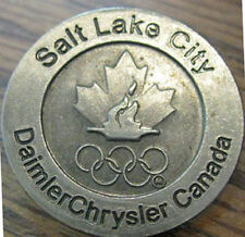 Salt Lake City 2002 Olympic limited edition Canada NOC pin