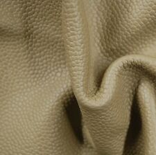 44 sf 2.5 oz Taupe Upholstery Leather Cow Hide Skin Furniture b3ei