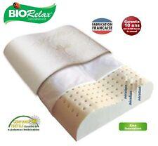 Oreiller cervical haut de gamme en latex pour sommeil serein