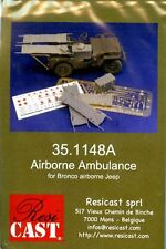 Resicast 1:35 REME Airborne Jeep Conversion for Bronco AB Jeep Resin PE #351148A