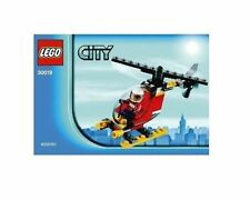 Lego City 30019 fire helicopter city polybag minifigure and pieces BN Sealed