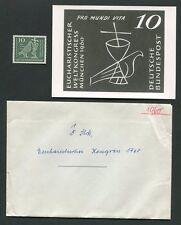BUND FOTO-ESSAY 330 EUCHARISTISCHER WELTKONGRESS MÜNCHEN 1960 ENTWURF RARE! e587