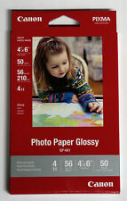 Canon OEM 4x6 GP601 glossy photo paper for MG2924 wireless MG2420 MX492 printer
