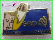 Pin's SEP Moteur de navette spatiale fusée moteur réacteur Espace #H2