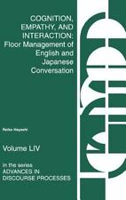 Cognition, Empathy & Interaction: Floor Management of English and Japanese Conve