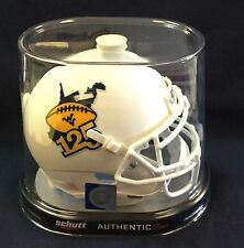 West Virginia Mountaineers 125 Years of WVU Football Mini Helmet FREE SHIPPING