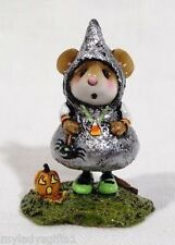 WEE FOREST FOLK SPECIAL EMBELLISHED SWEET TREATER WITH CANDY CORN NECKLACE
