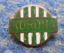 KORONA KRAKOW BASKETBALL POLAND CLUB 1970's ENAMEL PIN BADGE