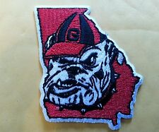 "UGA Georgia Bulldogs Vintage Embroidered Iron On Patch (RARE) 2.5"" x 3"" NCAA"