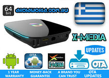 4K GREEK TV IPTV BOX FREE LIVE TV FULLY LOADED KODI Android SMART TV Box S905