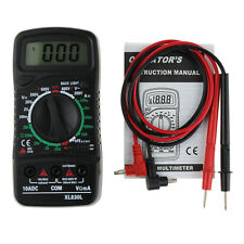 Digital LCD XL-830L Multimeter Voltmeter Ammeter AC/DC/OHM Volt Current Tester