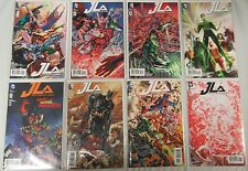 JLA Justice League of America #1 2 3-8 Run Lot of 8 Comics Batman Superman - DC