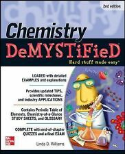 Chemistry DeMYSTiFieD, Second Edition by Williams, Linda D., Good Book