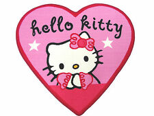 TAPPETO SCENDILETTO HELLO KITTY ORIGINALE SANRIO 94x86cm CAMERA CAMERETTA CUORE