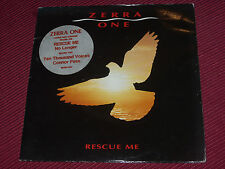 Zerra One: Rescue Me   rare 1985   EX+    Double  7""