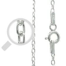 """Silver Italy Cable 040 Chain 0.9mm Sterling Silver 925 Best Price Jewelry 20"""""""