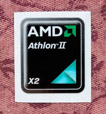 AMD Athlon II X2 Sticker 17 x 21mm Case Badge Logo Label USA Seller