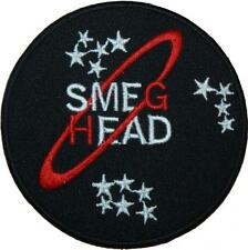 Red Dwarf Smeg Head Badge Embroidered Patch 9cm