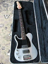 1994 G & L ASAT Electric Bass LEFT HANDED rare SILVER FINISH leo fender LEFTY