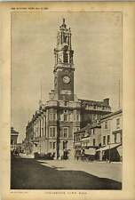 1902 Colchester Townhall Croyden Bros Wagon