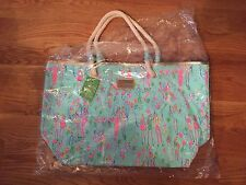 Lilly Pulitzer Pop Pop Sand Bar Blue Tote