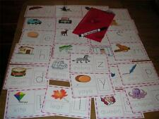 HAND WRITING PRACTICE CARDS WIPE CLEAN use again take anywhere