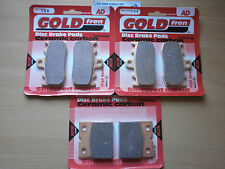 BMW K 1200 GT (K41) K1200GT   FULL SET FRONT & REAR BRAKE PADS (3xSets) SINTERED