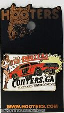 HOOTERS GIRL CONYERS GA 2005 DUKES OF HAZZARD GENERAL LEE HOMECOMING LAPEL PIN