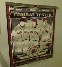 BOSTON RED SOX POSTER 2008 COMBAT TESTED  DISPLAY VINTAGE