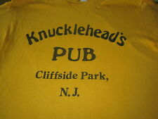 Knuckleheads Pub Cliffside Park New Jersey Vintage Tee Shirt 70S Rare