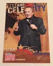 2009 Topps American Heritage Jackie Mason #AC1 Comedian Insert Card Nm/Mt-Mt