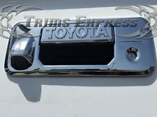 2014-2016 Toyota Tundra Chrome Tailgate Handle Cover w/KH+Cam