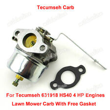 Vergaser Für Tecumseh Carb 631918 HS40 4HP HS50 5HP Engine Lawn Mower Mini Bike